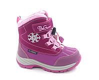Термосапожки зимові для дівчинки B&G termo (Бі Джі) р. 24, 25 модель R20-198, фото 1