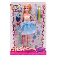Кукла с платьем-раскраской BLD169-1