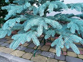Литая елка Премиум 2.50м. голубая   / Лита ялинка / Ель / Ёлочка пластиковая / елка большая исскуственная, фото 3