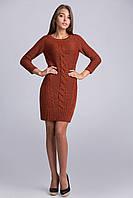 Нарядное вязанное платье туника