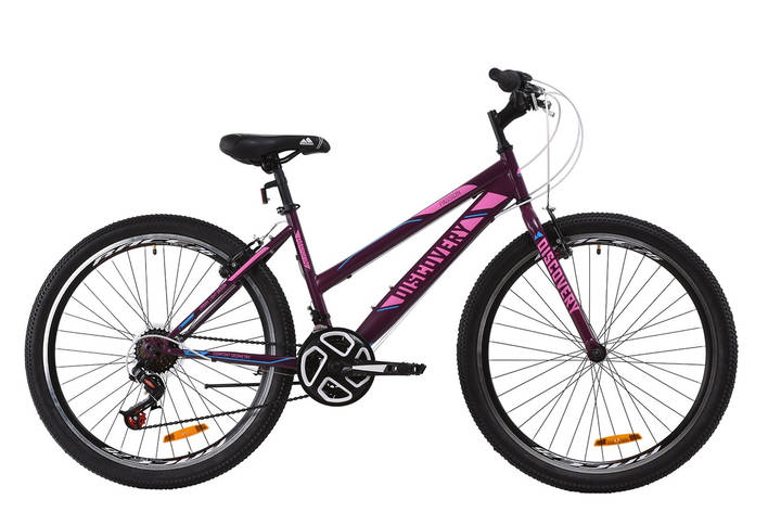 "Велосипед ST 26"" Discovery PASSION Vbr 2020 (сливовый (м)), фото 2"