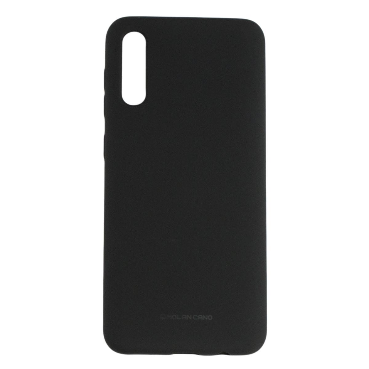 Оригинальный силиконовый чехол Molan Cano Jelly Case для Samsung Galaxy A30S (SM-A307) (черный)