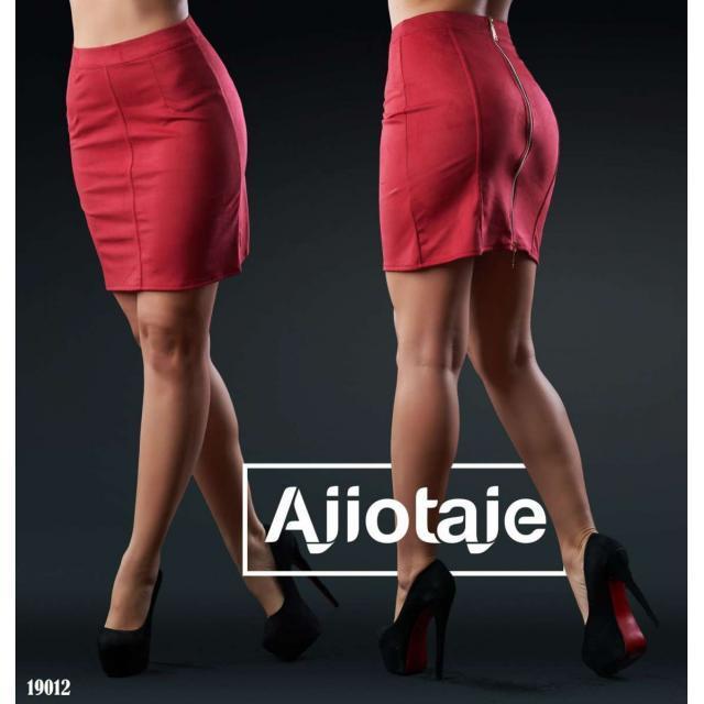Замшевая мини юбка Arut оптовый интернет магазин женской одежды арут