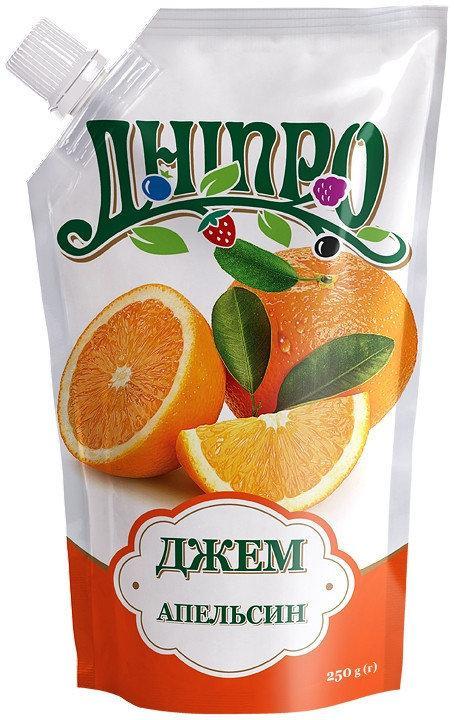 """Джем """"Апельсин"""" Дой-Пак 250г"""
