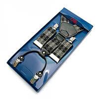 Подтяжки Gofin suspenders Y Образные Серый Pu-0454, КОД: 389969