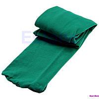 Колготы для девочки на рост 90-165 см темно-зеленые
