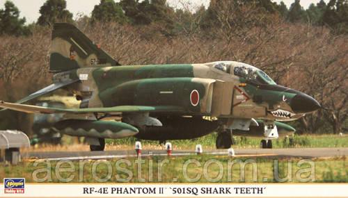 RF-4E Phantom II 501SQ Shark Teeth 1/72 Hasegawa 00772