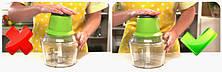 Универсальный кухонный измельчитель Молния, мясорубка, 6 в 1, фото 3