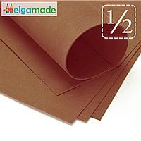 Фоамиран ТЕМНО-КОРИЧНЕВЫЙ, 1/2 листа, 30x70 см, 0.8-1.2 мм, Иран, фото 1