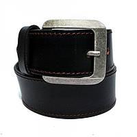 Кожаный мужской ремень Millennium Черный Rgb-4122, КОД: 972619