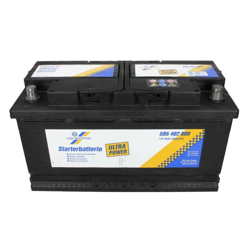 Cartechnic 6СТ-95 АзЕ CART595402080 Автомобильный аккумулятор