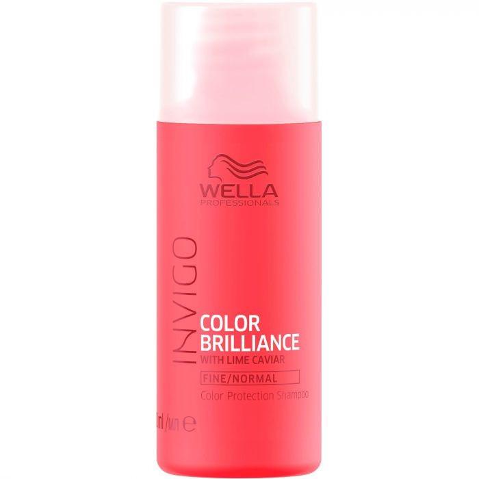 Wella Color Brilliance Fine Shampoo Шампунь для фарбованого волосся б. тонких і норм. волосся 250 мл