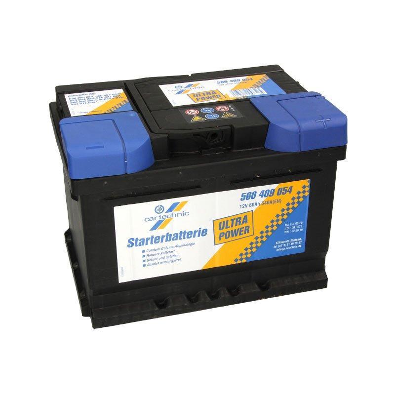 Cartechnic 6СТ-60 АзЕ CART560409054 Автомобильный аккумулятор