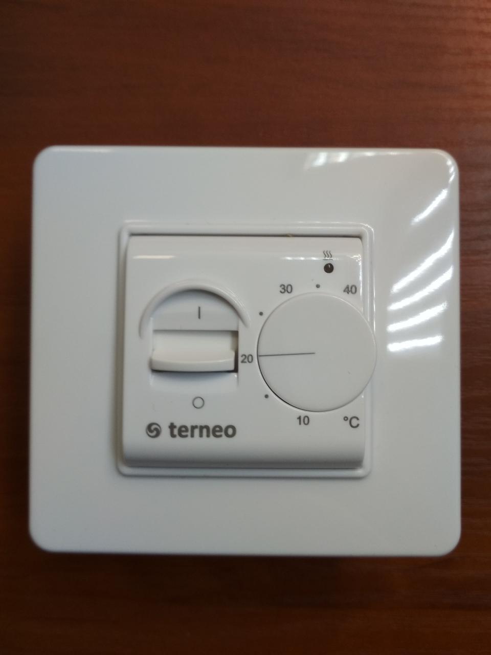 Терморегулятор Terneo MEX для теплого пола (механический)