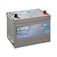 EXIDE 6СТ-75 АзЕ PREMIUM EA754 Автомобильный аккумулятор