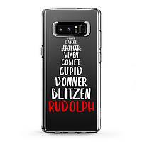 Чехол силиконовый для Samsung Galaxy (Christmas Tree) J8/J7 Max/Core/Prime/Duo/V/J6 Plus/J4/J3 Pro/J2/J1 mini самсунг галакси джей плюс про 2018