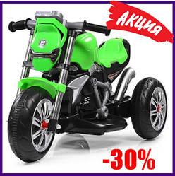 "Детский Электро Мотоцикл Bambi M 3639-5 Green ""25 Bт "" От 2-х лет"