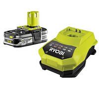 Акумулятор і зарядний пристрій Ryobi RBC18L15