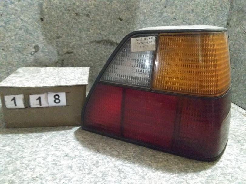 №118 Б/у фонарь задний правий 191945112 для Volkswagen Golf II 1983-1992