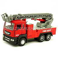Машинка игровая автопром «Пожарная машина» (свет, звук) 5002