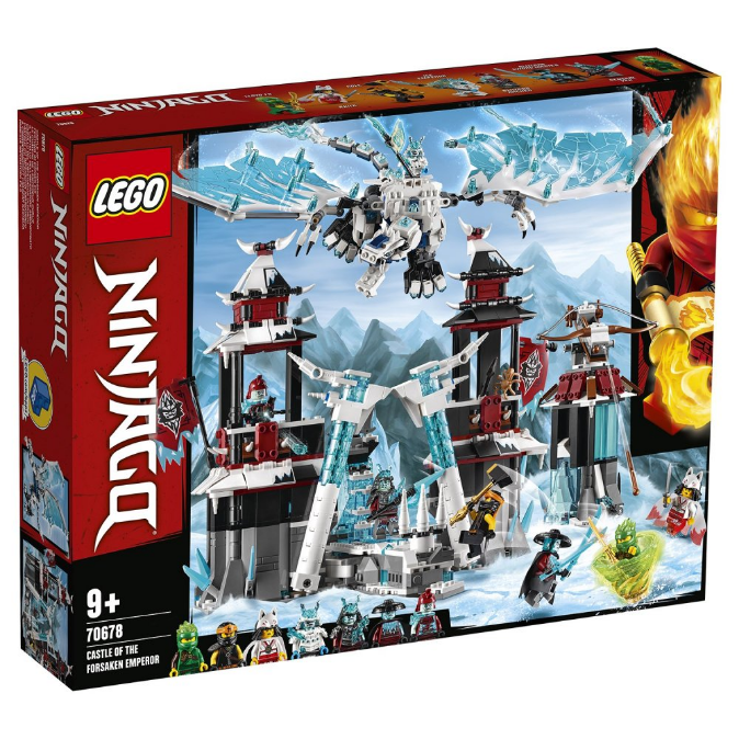 Конструктор LEGO Ninjago «Замок імператора-відлюдника» 70678