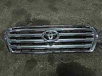 Решетка радиатора с камерой Toyota land cruiser 200 (53114-60110 / 86790-60200)