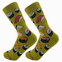 Высокие женские носочки с принтом Суши, фото 4