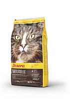 Josera Naturelle сухой корм для стерилизованных кошек и кастрированных котов, 10 кг