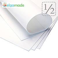 Фоамиран БЕЛЫЙ, 1/2 листа, 30x70 см, 0.8-1.2 мм, Иран, фото 1