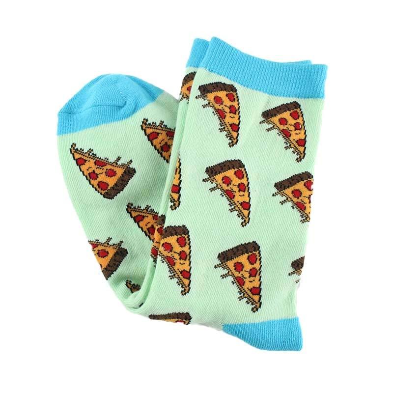 Женские носочки с принтом Пиццы