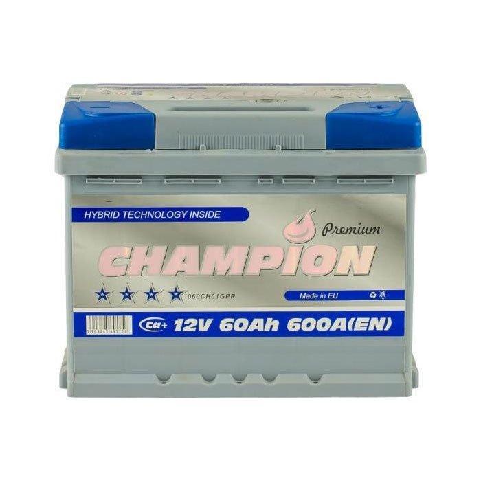 Champion 6СТ-60 АзЕ Premium CHGP60-0 Автомобильный аккумулятор