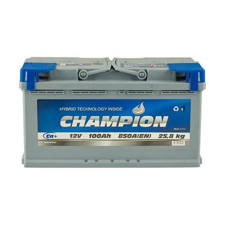 Champion 6СТ-100 АзЕ CHG100-0 Автомобильный аккумулятор, фото 2