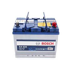 Bosch 6CT-70 S4 Silver (S40 260) Автомобільний акумулятор, фото 3
