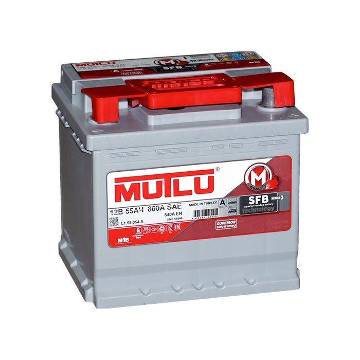 MUTLU 6СТ-55 Аз L1.55.054.B Автомобильный аккумулятор