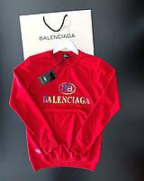 Мужской свитшот Balenciaga JB7 red (реплика)
