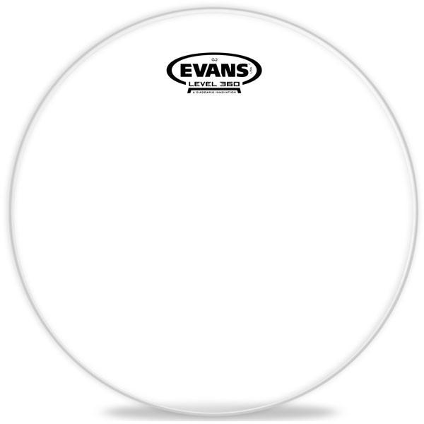 "Рабочий пластик Evans TT12G2 12"" Genera G2™CLEAR для тома"