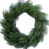 Венок Kvazar Канадский д. 70 см Зеленый (Н036-53_1)
