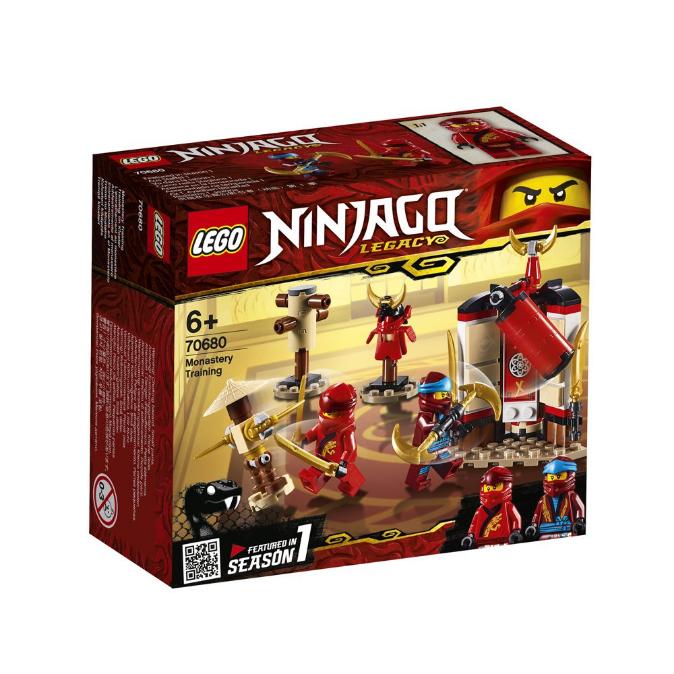 Конструктор LEGO Ninjago «Тренування в монастирі» 70680