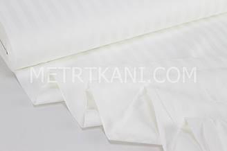 Страйп сатин цвет айвори полоска 1*1 см  ширина 240 см № VS-22212