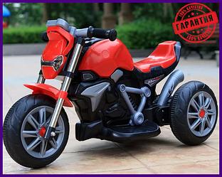 "Детский Электро Мотоцикл Bambi M 3639-3 Красный  ""25 Bт "" От 2-х лет"
