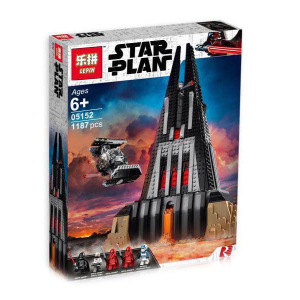 "Конструктор Lepin 05152 ""Замок Дарта Вейдера"" (аналог Lego Star Wars 75251), 1187 дет"