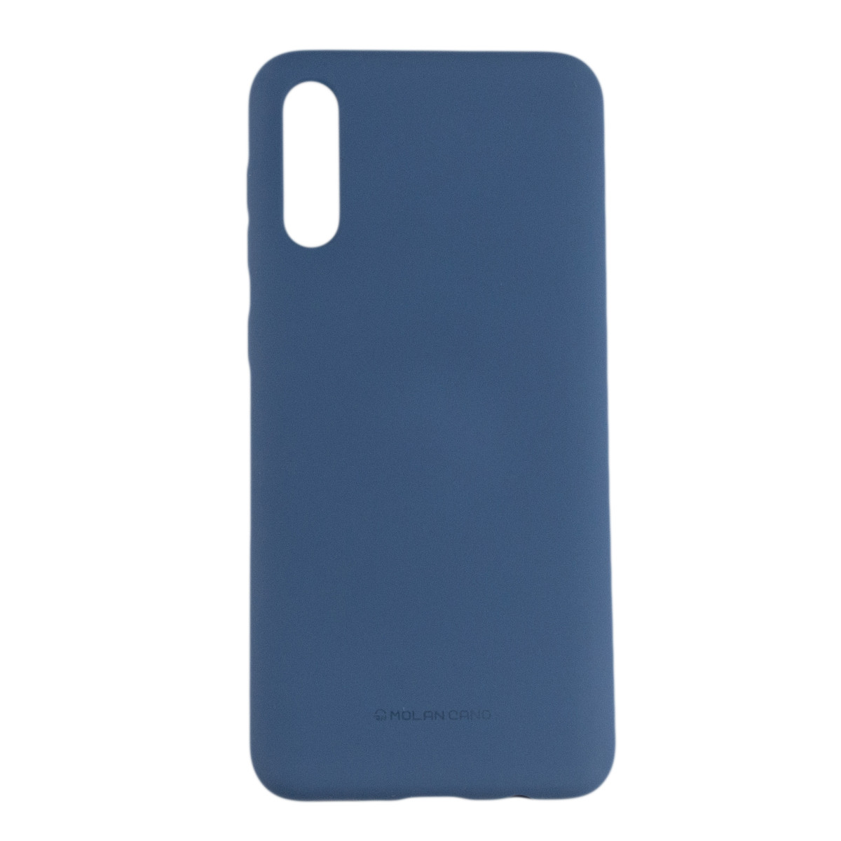 Оригинальный силиконовый чехол Molan Cano Jelly Case для Samsung Galaxy A30S (SM-A307) (синий)