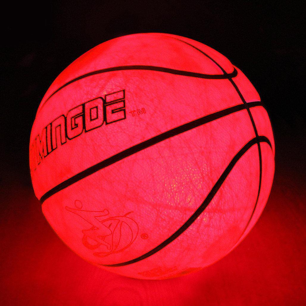 Мяч баскетбольный с LED Подсветкой Jymindge 7 размер