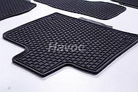 Оригинальные коврики для Audi Q7 2006 - 2015 HAVOC резиновые в салон полный комплект