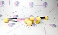 Аэропуффинг AF-238 - кисть(стрази в ручці) для амбре/аерографії з насадками