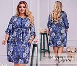 Стильное платье  (размеры 48-62) 0212-50, фото 2