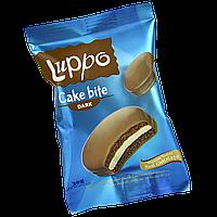 Кекс Luppo с какао и маршмеллоу в молочном шоколаде 30г 1уп/24шт, фото 1
