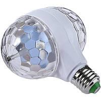 Светодиодная вращающаяся диско лампа Ball 2015-1