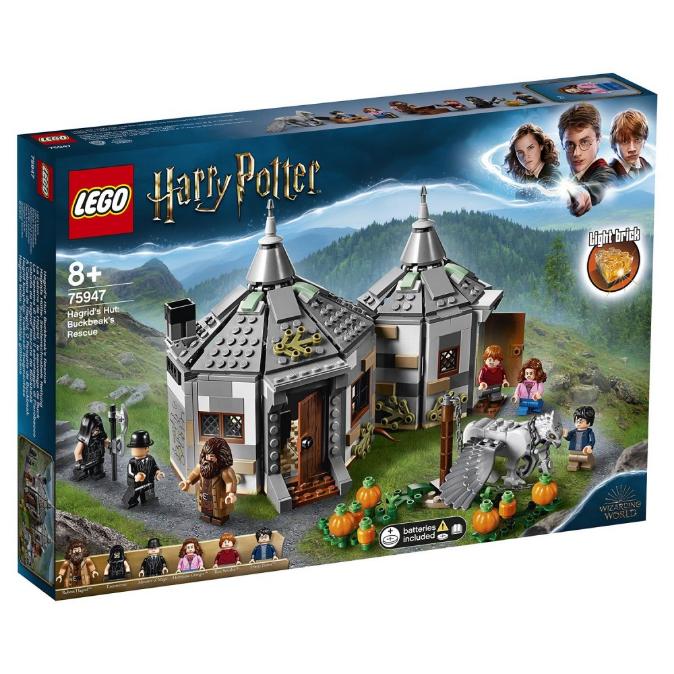 Конструктор LEGO Гаррі Поттер «Хатинка Геґріда: порятунок Бакбик» 75947