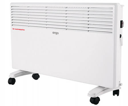 Конвектор електричний ERGO HC-2015E 1500 Вт, фото 2
